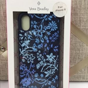 iPhone X Vera Bradley Quilted Phone Case